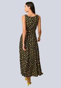 Alba Moda - Maxi dress - schwarz gelb - 2