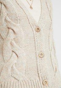 NAF NAF - ANDROMEDEG - Cardigan - beige rose - 5