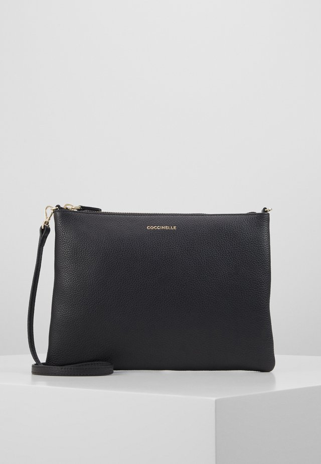 BEST CROSSBODY SOFT - Axelremsväska - noir