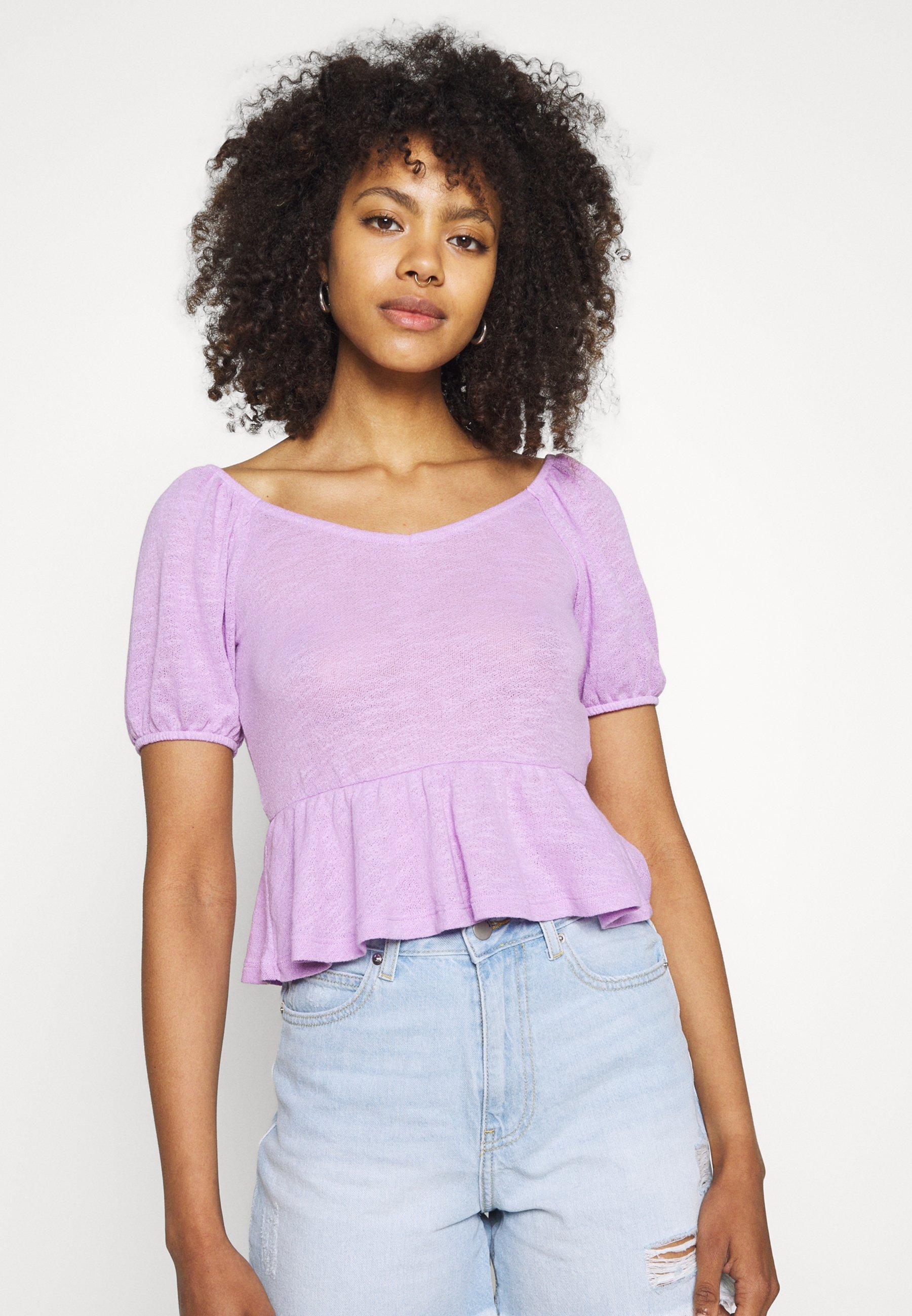 Women PCTENZIN - Basic T-shirt