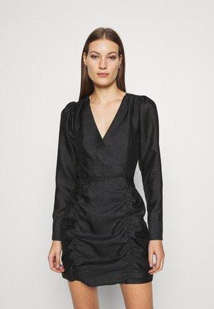 ROSALINA MINI DRESS - Vapaa-ajan mekko - black