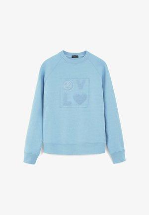 JUME - Sweatshirt - bleu