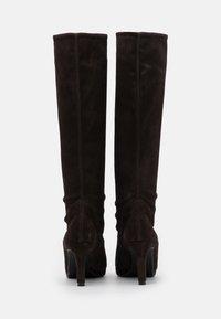 Peter Kaiser - PAULINE - High heeled boots - dark brown - 3