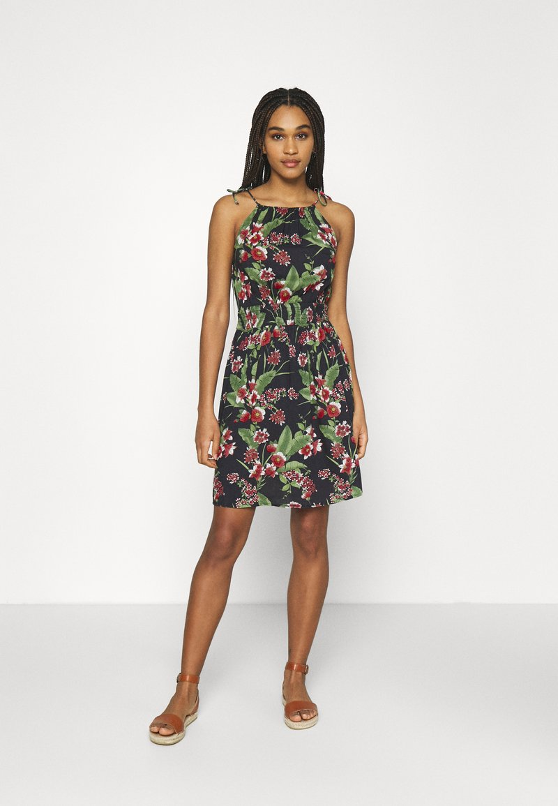 Pieces - PCMANURA STRAP DRESS - Sukienka letnia - black