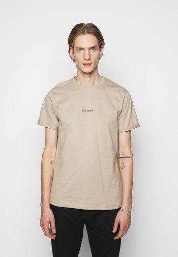 LENS - Basic T-shirt - beige