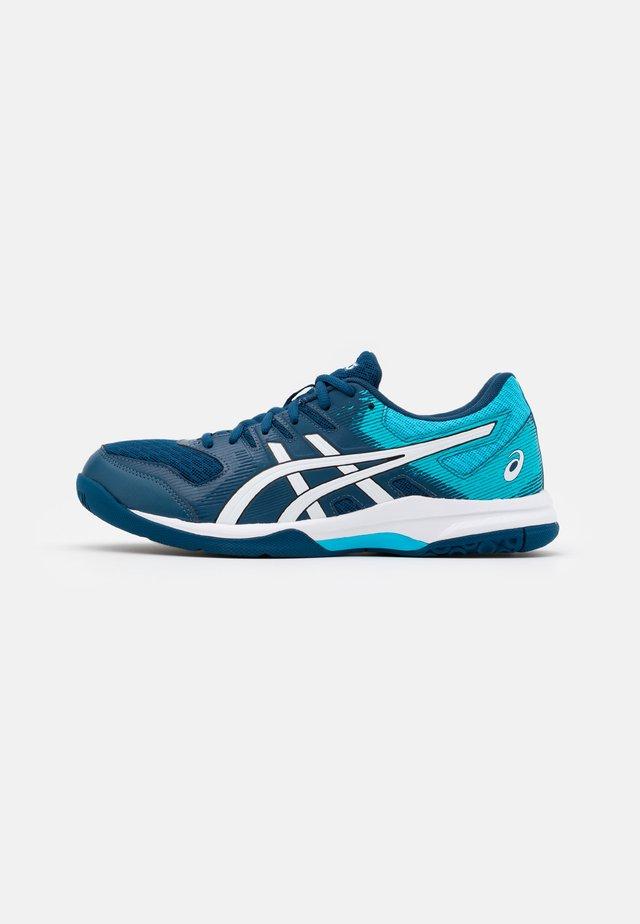GEL-ROCKET 9 - Volejbalové boty - mako blue/white