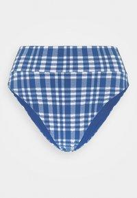aerie - HI CUT CHEEKY PLAID - Bikini bottoms - jeweled blue - 3