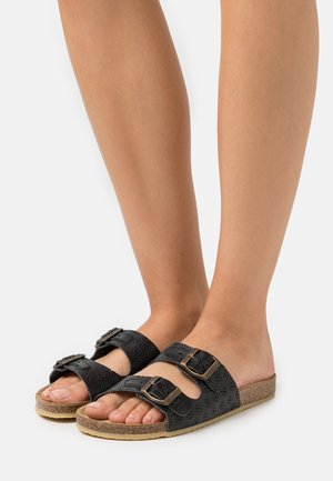 ECO LOG - Pantofle - noir