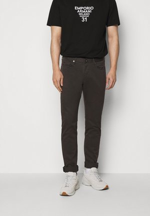 Jeans slim fit - brown