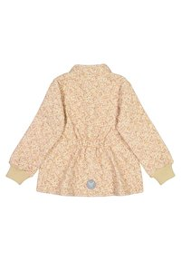 Wheat - THERMO THILDE - Winterjas - soft beige flowers - 1