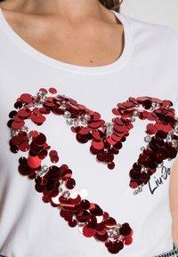 Liu Jo Jeans - MODA - Print T-shirt - bianco ottico - 4