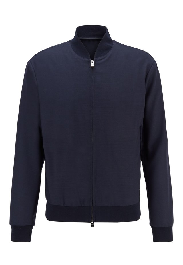 NOLWIN - Bomber Jacket - dark blue