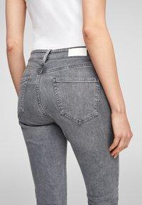 s.Oliver - Slim fit jeans - grey stret - 3