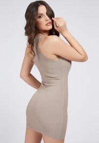 Guess - ALEXA TIE  - Shift dress - beige - 2