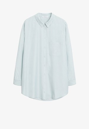 GROUP - Button-down blouse - pastellgrün