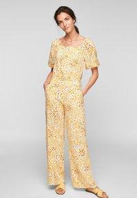 s.Oliver - Jumpsuit - sunlight yellow aop - 3