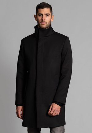 BOHO - Classic coat - schwarz
