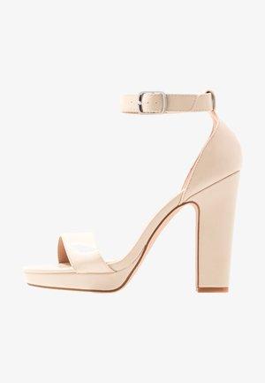 Sandalias de tacón - offwhite