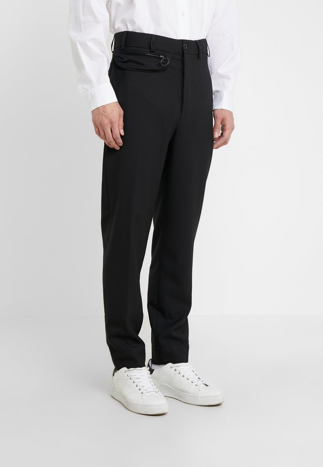 PHOCAS PANTS - Bukser - black