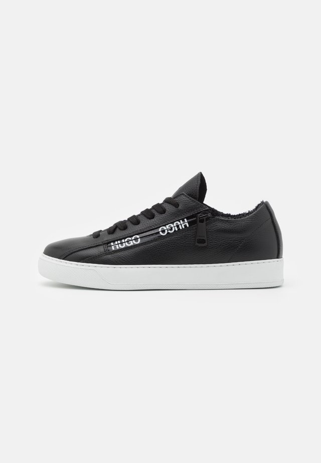 DEVA LACE UP ZIP - Zapatillas - black