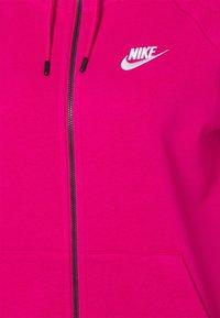 Nike Sportswear - HOODIE - Hettejakke - fireberry/white - 6