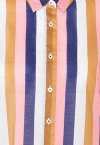 Emily van den Bergh - Button-down blouse - brown/rose/blue - 6