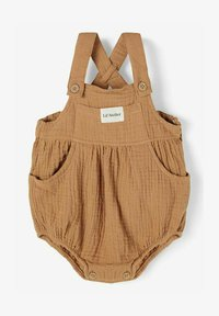 Lil' Atelier - Dungarees - tobacco brown - 0