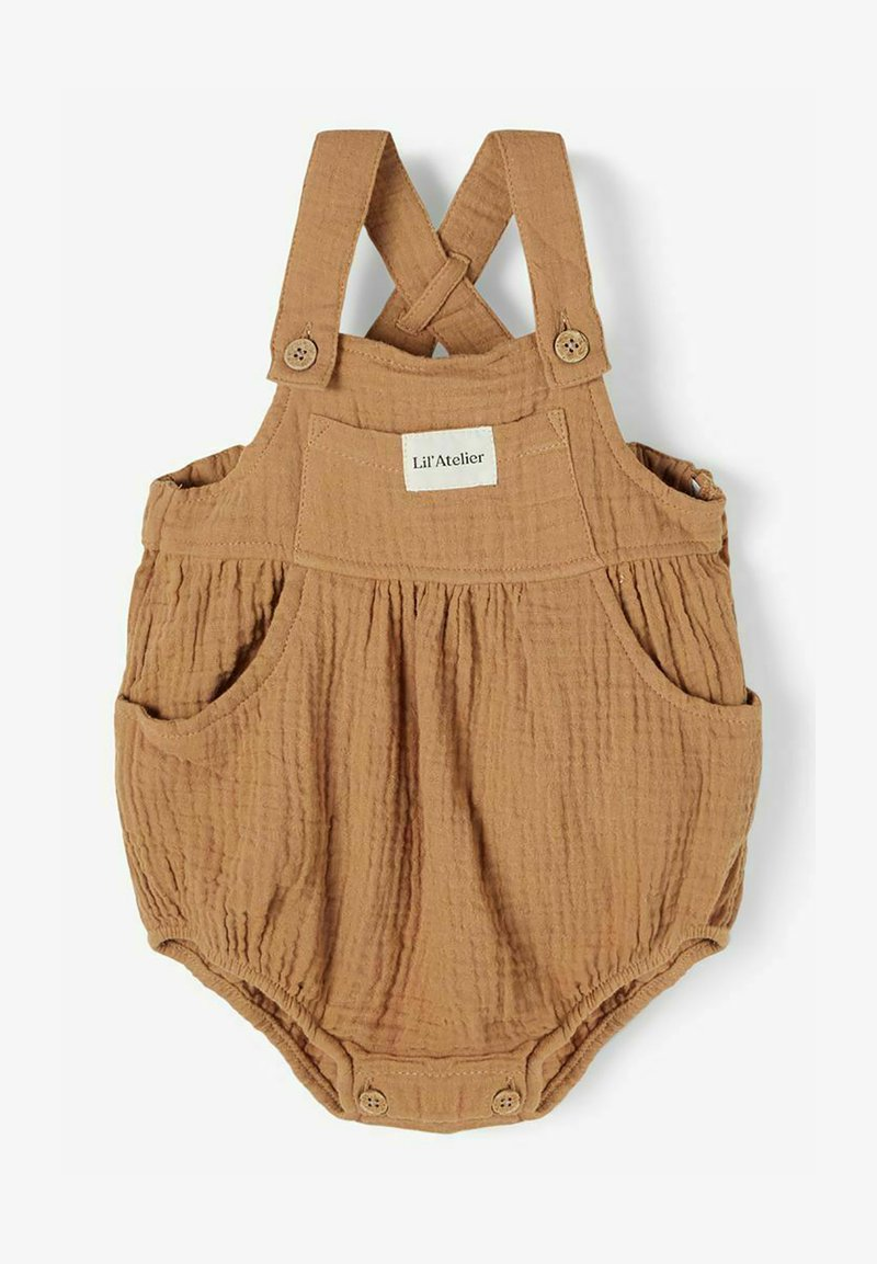 Lil' Atelier - Dungarees - tobacco brown