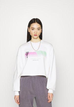 MAYA CROPPED - Sweatshirt - offwhite