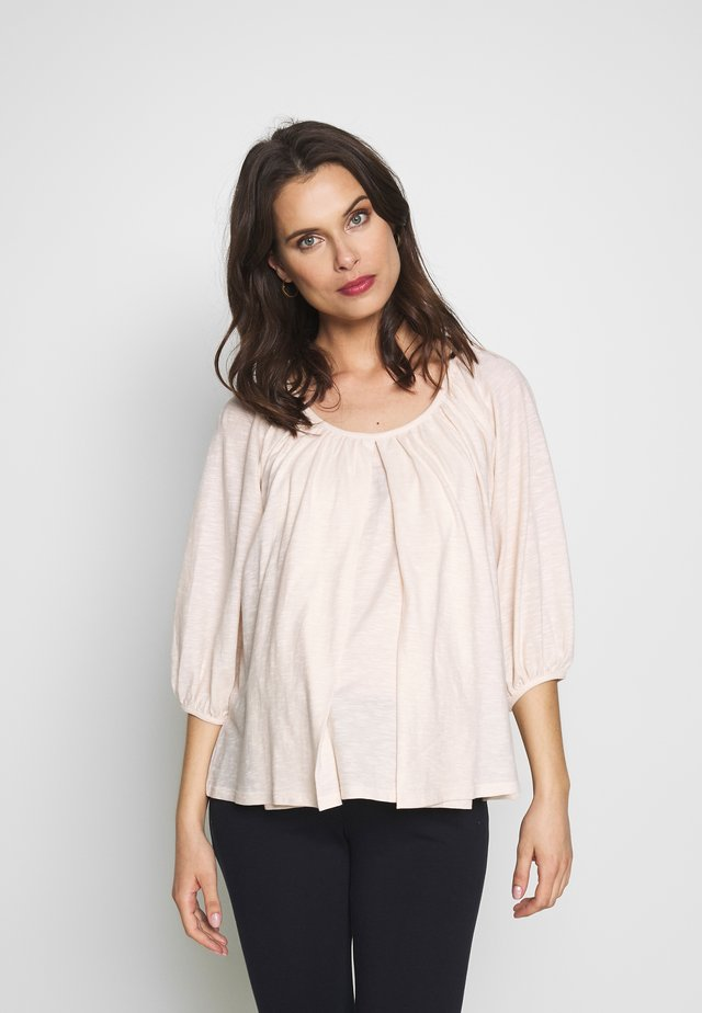 AIR BLOUSE - Long sleeved top - light pink
