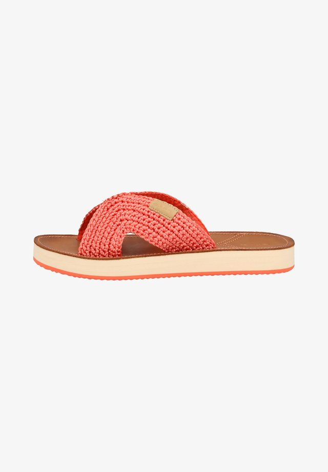 PANTOLETTEN - Slippers - bright coral