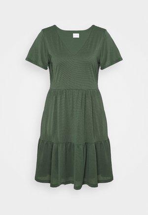 VINATALIE SHORT DRESS - Jersey dress - garden topiary