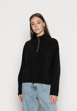 ONLOLIVIA  - Fleece jumper - black