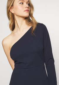 WAL G. - ONE SHOULDER MAXI DRESS - Vestido de fiesta - navy blue - 4