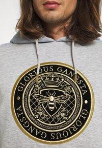 Glorious Gangsta - IRVAS HOODY - Felpa - grey marl - 5