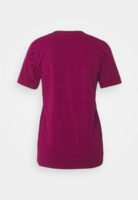 adidas Originals - TREFOIL TEE - T-shirt con stampa - power berry/white - 7