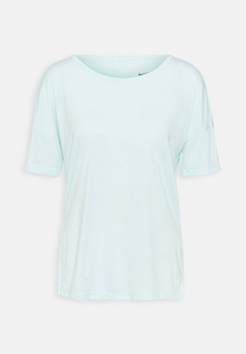 LAYER - T-shirts - teal tint heather/barely green