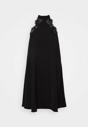 VMLOVELY HALTERNECK SHORT DRESS - Vestito elegante - black