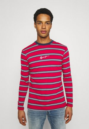 CLASSIC HORIZONTAL STRIPE UNISEX - Long sleeved top - red