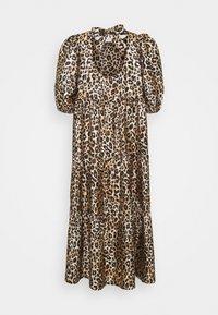 Cras - DRESS - Sukienka letnia - brown/black - 1