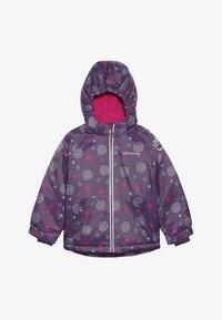 Minymo - SNOW JACKET OXFORD GIRL SHAPE - Zimní bunda - loganberry - 5