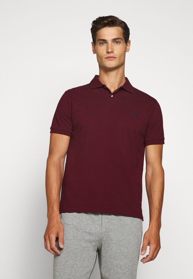 SHORT SLEEVE - Polo - classic wine