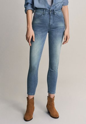 PUSH IN - Slim fit jeans - blue