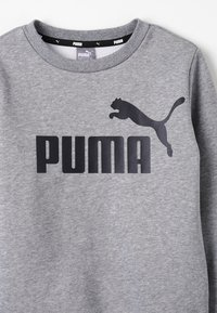 Puma - LOGO CREW - Sweatshirts - medium gray heather - 3