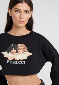 Fiorucci - VINTAGE ANGELS CROPPED  - Mikina - black - 4
