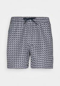Brave Soul - SORRENTO - Swimming shorts - navy/grey/white - 0