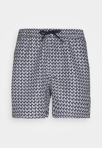 SORRENTO - Swimming shorts - navy/grey/white