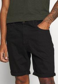 Brave Soul - Denim shorts - black - 4
