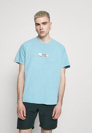 BREEZE RECEIPT REGULAR - T-shirt med print - blue