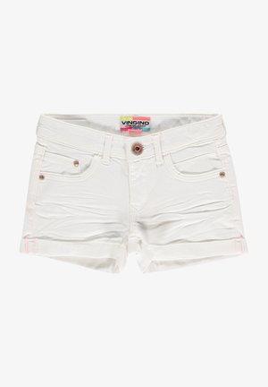DAMARA - Denim shorts - white denim